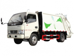 Dongfeng best quality 5000Litres garbage compactor truck