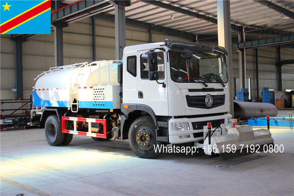 Shipping DRC Congo 4units Multifunctional high pressure jetting truck lowest price